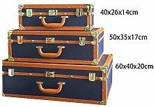 LALABIT Decoration Suitcase American-style