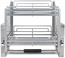 LALAWO Cabinet lift pull basket pull down cabinet