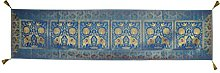 Lalhaveli Handmade Elephant Design Rectangle Silk