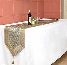 Lalhaveli Indian Handmade Grey Color Silk Table