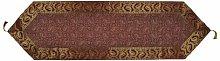 Lalhaveli Indian Home Decor Silk Fabric Maroon