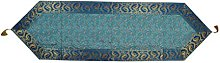 Lalhaveli Indian Paisley Design Silk Table Runner