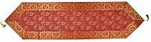 Lalhaveli Rajasthani Rectangular Shape Silk Red
