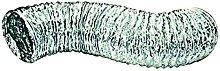 Lama-Flex Duct Pipe, Silver, 4-Inch x 10 f