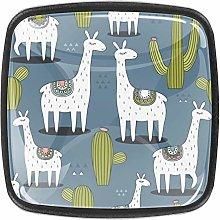 Lama Plant Alpaca 4 Packs Kitchen Cabinet