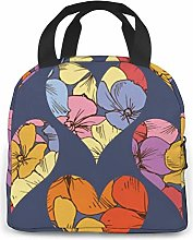 Lamashand Drawn Childish Neoprene Lunch Bag/Lunch