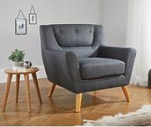 Lambeth Grey Fabric Chair