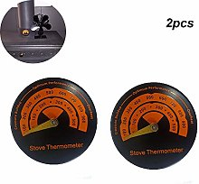 LaMei Yang Magnetic Stove Thermometer, Wood Burner