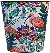 LAMEIDA Tropical Style Trash Can Waste Paper