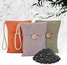 LAMF 5Pcs Bamboo Charcoal Air Purifying Bags,