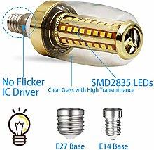 Lamp Bulbwhite Light Bulbs,3 Pcs No Flicker Led