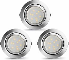 LAMPAOUS LED Recessed Lights Kitchen Lamps