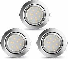 LAMPAOUS LED Recessed Spotlight Kitchen Lamps