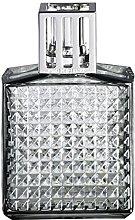 LAMPE BERGER Diamond Grey Glass Lamp Home
