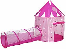 LAMPSJN 2 in 1 Pop Up Play Tent with Tunnel, Ball