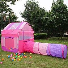 LAMPSJN Play House Tent Tunnel, Indoor/Outdoor