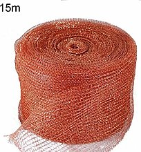 lamta1k Copper Mesh,6/15/30m Anti-bite Knitted