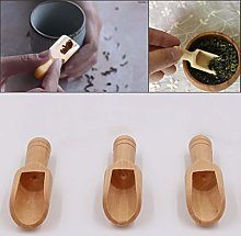 lamta1k Wooden Spoon,Natural Wooden Coffee Tea