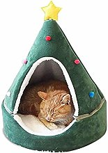 Lanbowo Cat Tent Cave Bed House Winter Warm