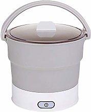 Lanbowo Folding Hot Pot Electric Skillet Kettle