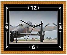 Lancaster Bomber RAF Clock Gift Present Christmas