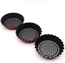 Lancoon Cupcake and Muffin Molds Carbon steel,
