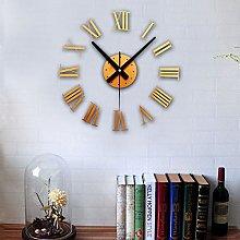 Lancy_Luna Modern DIY Large Wall Clock Big Watch