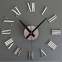 Lancy_Luna Modern DIY Large Wall Clock Big Watch