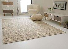 Landshut Living Room, Bedroom Rug, Natural and,