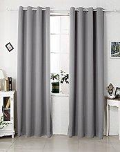 Laneetal Blackout Curtain Thermal Insulated Eyelet