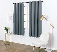 Laneetal Blackout Curtains 2 Panels Thermal
