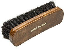 Langlauf Premium 100% Horse Hair Brush -Black- for