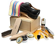 Langlauf Shoe Care Box II with footrest and shoe