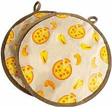 LANGM Tortilla Warmer Cloth Pouch, Pancake Warmer