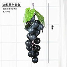 LANGPIAOEZU Realistic 2PCS Artificial Grapes DIY