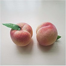 LANGPIAOEZU Realistic Artificial Fruits Fake Juicy