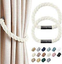 Langray - 2 Pack Strong Magnetic Curtain Tiebacks