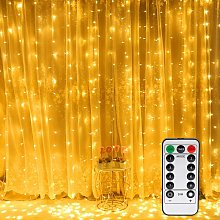 Langray - 300 LED Curtain Lights,LED Window