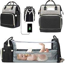 Langray - 4 in 1 Portable Folding Crib Travel