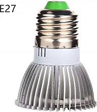 Langray - 8W LED Plant Grow Light, 18LED E27 Grow