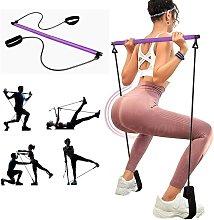 LangRay Adjustable Pilates Bar for Elastic Muscle