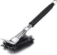 LangRay Barbecue Brush with 304 Stainless Steel