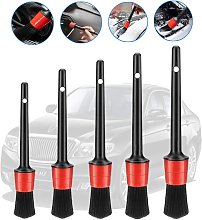 LangRay Car Cleaning Brush, 5 pcs Car Beauty
