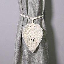 LangRay Curtain Drawstring Curtain Boho Curtain