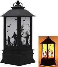 Langray - Halloween Decorative LED Lamp Flame Bulb