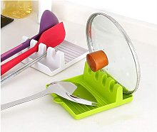 LangRay Kitchen Utensil Holder with Drip Tray, for