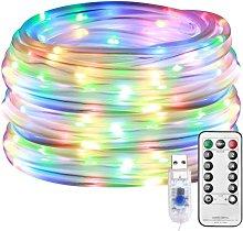 LangRay LED light chain, light tube outside, 10M