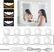 LangRay LED mirror light, makeup table lighting,