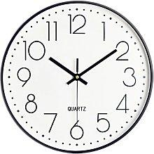 LangRay Modern Quartz 30cm Round Silent Wall Clock