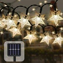 LangRay Outdoor Solar String Lights 7M 50 LED